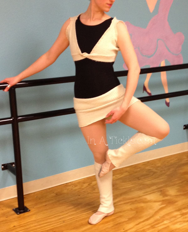 If any of you are ballet dancers, please don't critique my form. If you do, I'll deny that it's a picture of me. Thanks!