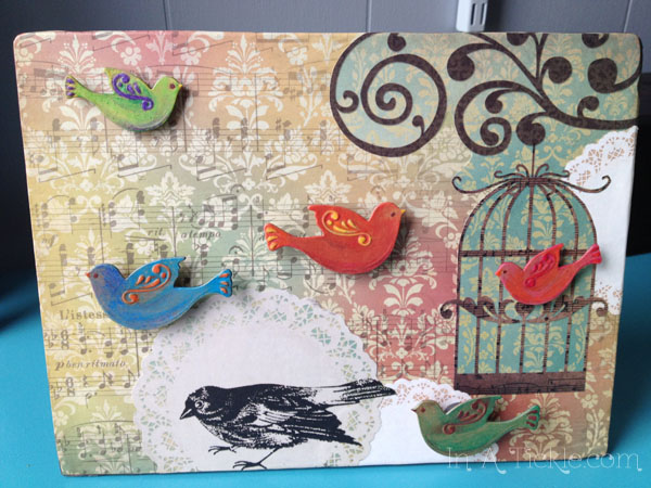 Bird Magnet Board