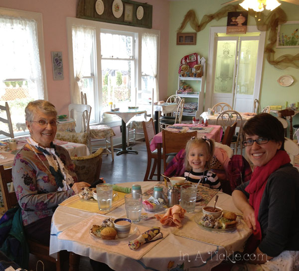 Birthday Lunch at the Tea Room