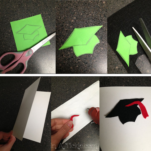 Homemade graduation cards thoroughly thrifty thursday