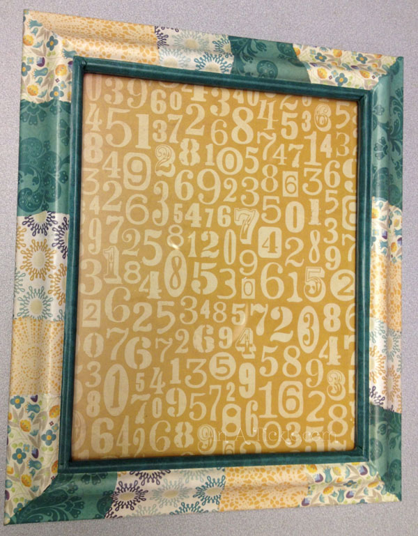 Gold  Patchwork Frame