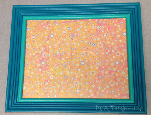 New Look for Old Frames: Transform it Tuesday | In A Tickle