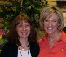 Jan with Karen Kingsbury