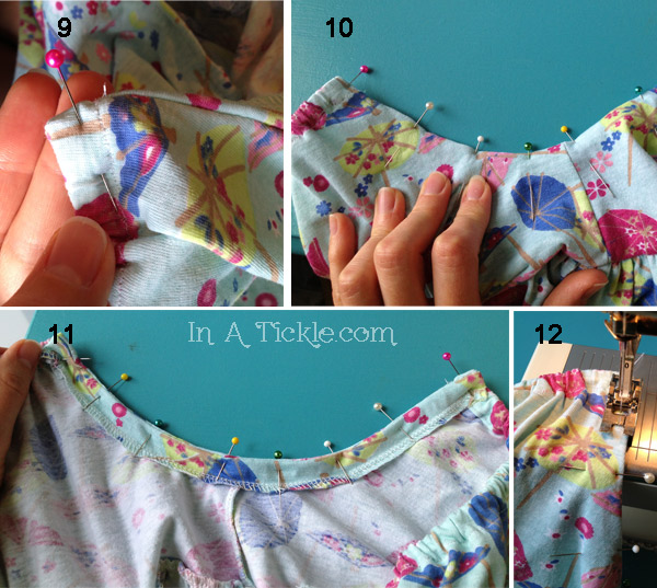 Nightgown tutorial 3