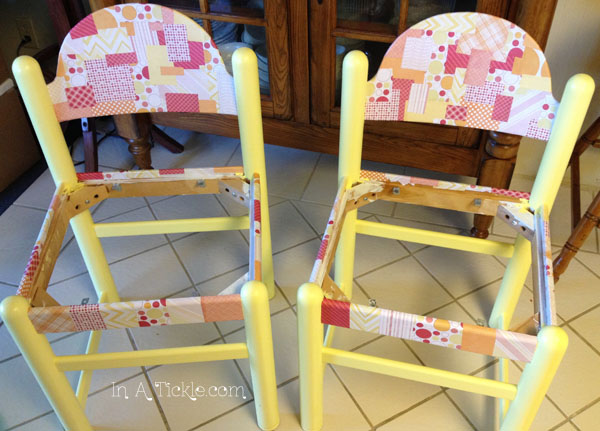 papered chairs
