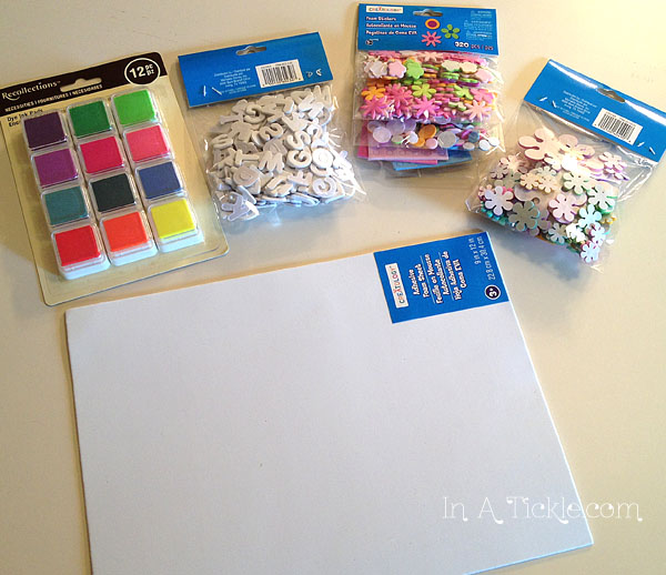Craft Foam Stamp Supplies