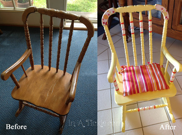 Rocking Chair before after