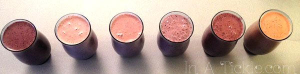 Smoothies Made to Order