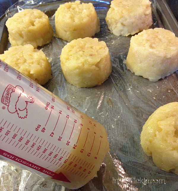 Freezing Applesauce in 1/2 cup portions