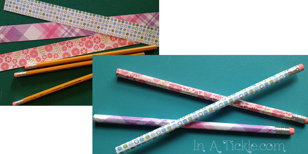 Paper covered pencils
