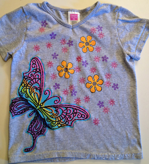 Transformed Butterfly Shirt