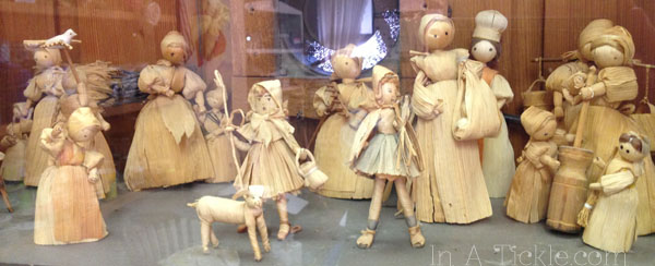 Antique Corn Husk Dolls