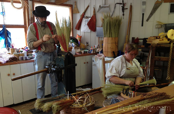 Broom Shop Ozark Folk Center-Mt View AR