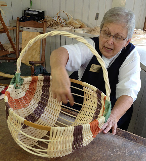 Making Egg Basket