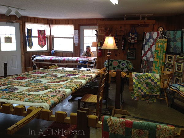 Quilt Shop Ozark Folk Center Mt View AR
