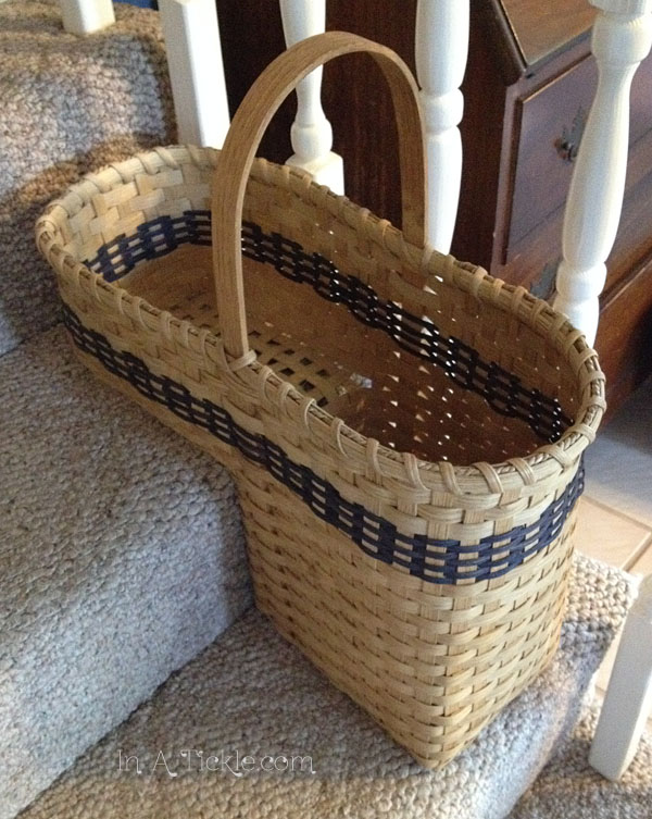 Stair Step Basket