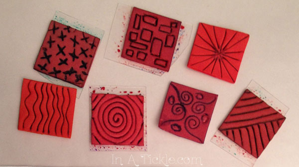 Homemade Stamps