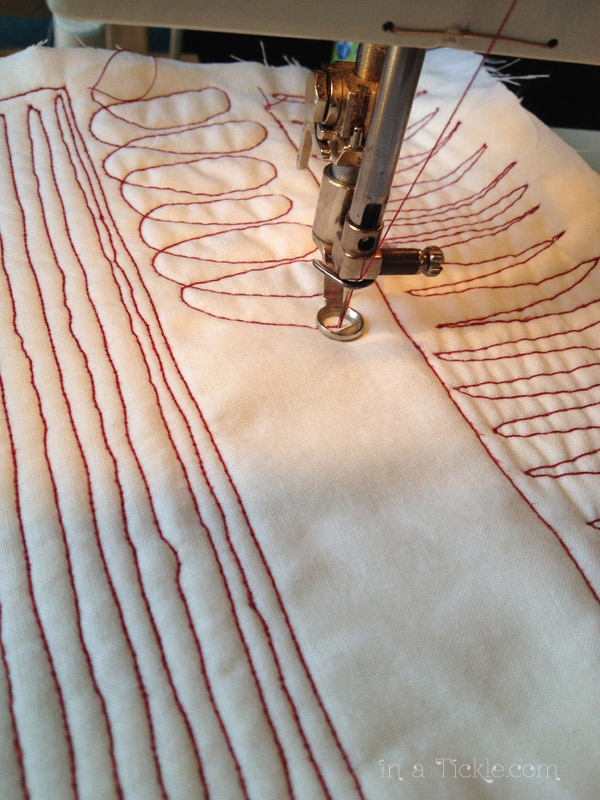 Free Motion Sewing Practice