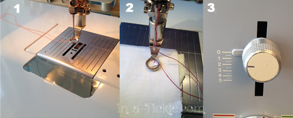Set-up Steps for Free Motion Quilting