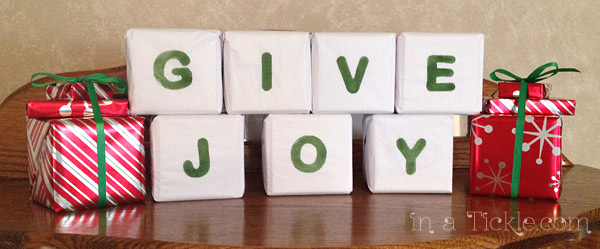 Give Joy Blocks