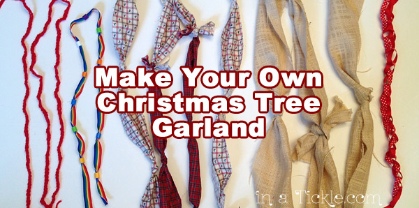 Make Your Own Christmas Tree Garland