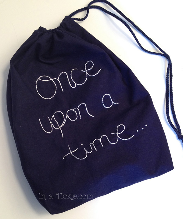 Creative Christmas: Simple Homemade Drawstring Gifts | In A Tickle