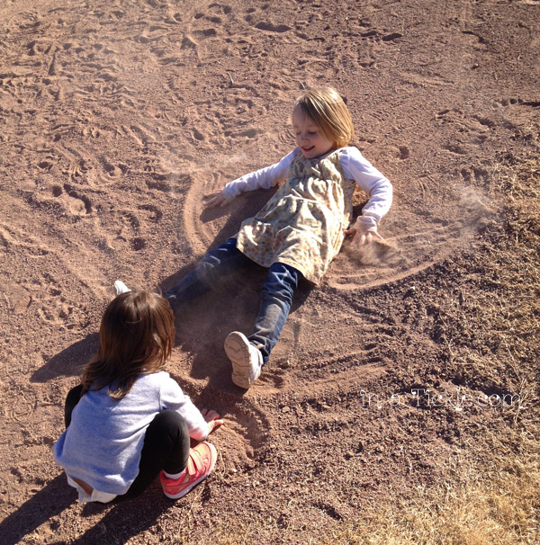 Don t be afraid to make dirt angels in a tickle for What is dirt made up of
