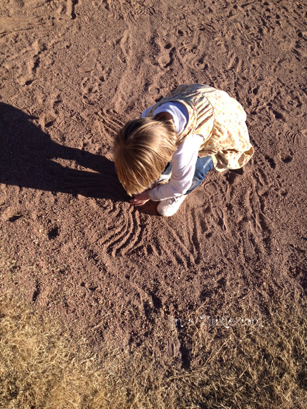 Playing in Dirt