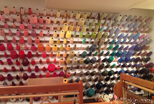 Wall of Yarn