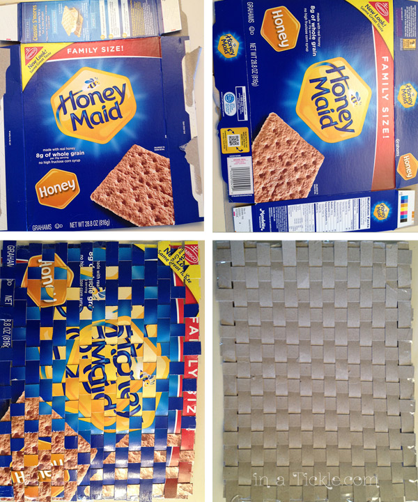 Woven Graham Cracker Box