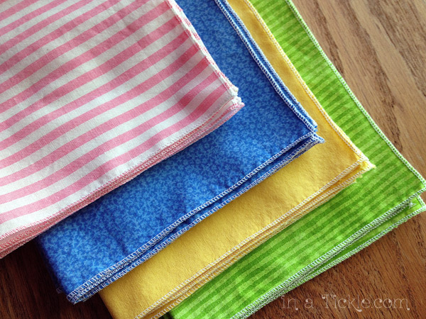 Serged Cloth Napkins