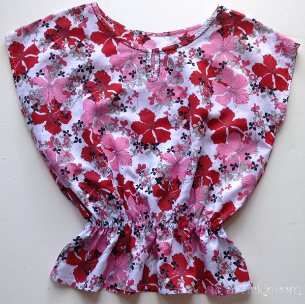 Flower Summer Top