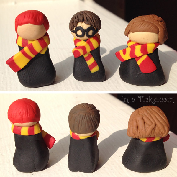 Clay Harry Potter Figurines