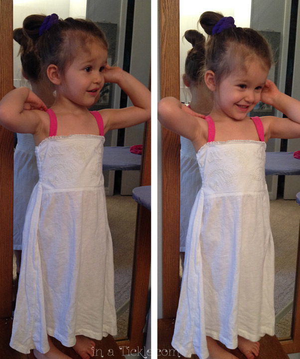 Nightgown made from Old Shirt