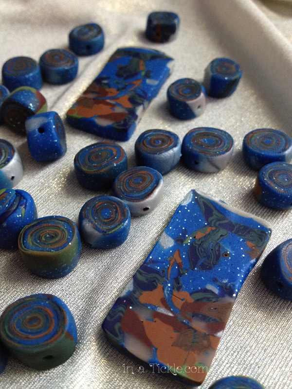 Polymer Clay Bead