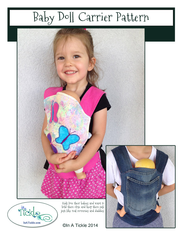 Baby Doll Carrier Pattern | In A Tickle