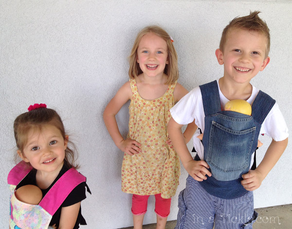 My Little Models- Baby Doll Carrier