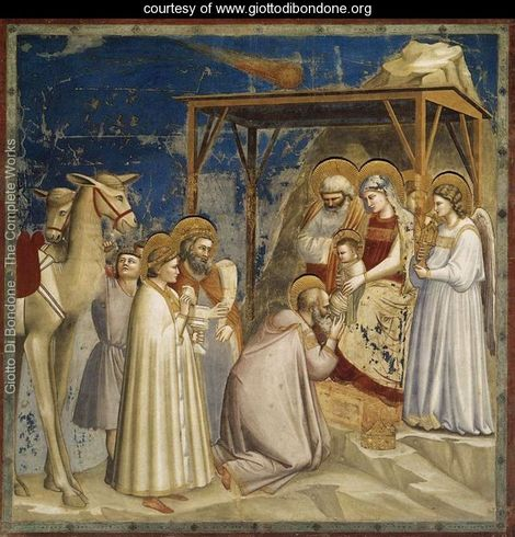No.18 Scenes from the Life of Christ--Adoration of the Magi