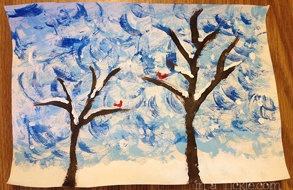 """Winter Birds"" by Melinda"