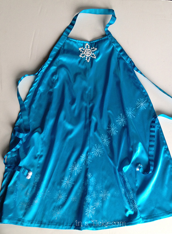 Elsa Dress up Apron