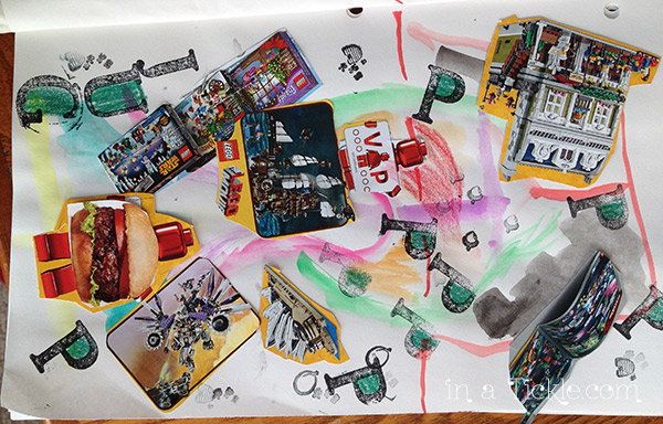 Kids Mixed Media Layers-DLP