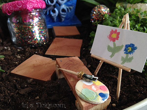 Fairy-Garden-Paint-Easel