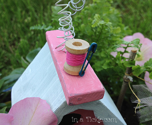 Fairy-Garden-Thread Spool
