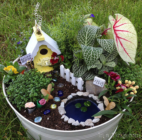 Fairy-Garden-Yellow House