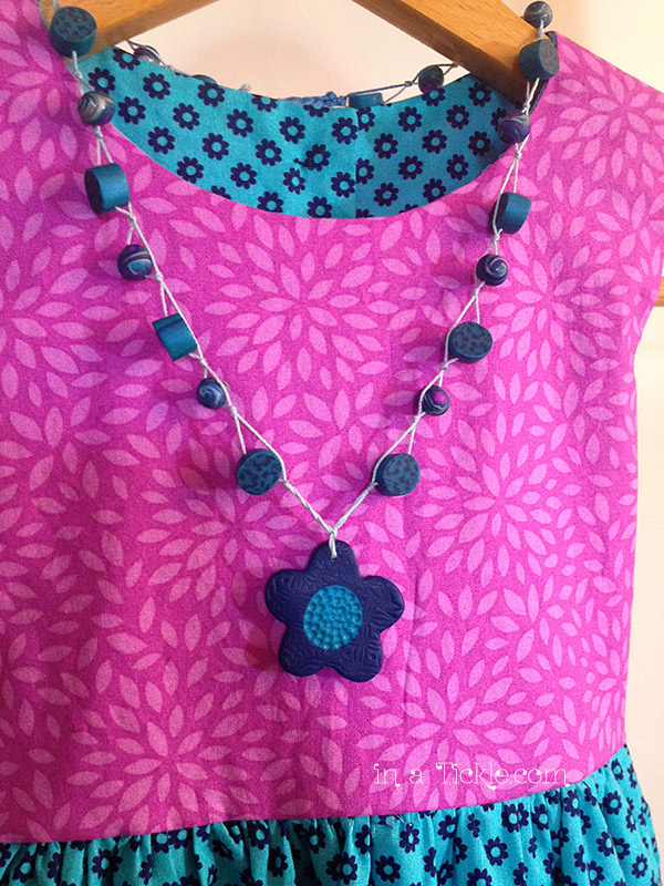 PolymerClay-Bead-String-Necklace
