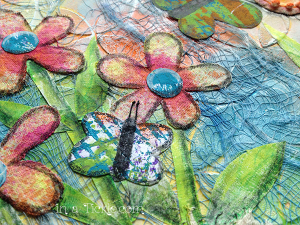 Butterflies-and-Flowers-Mixed-Media