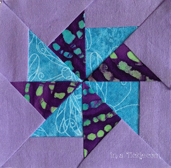 Flying-Kite-Quilt-Block