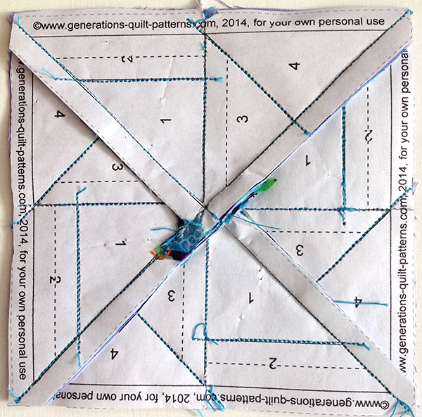 Foundation-Paper-Piecing-Flying Kite