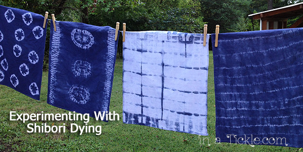 Experimenting-With-Shibori-Dyeing