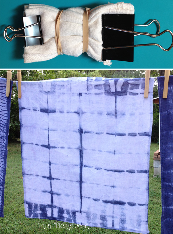 Shibori-Accordion-Fold